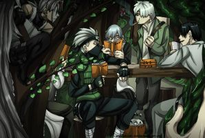 The Book Club by Yakushi--Kabuto