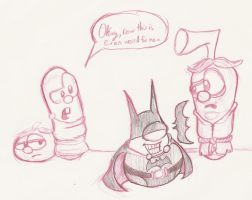Mr. Lunt is The Batman by Kenny-boy