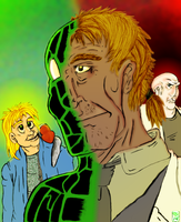 Camoflauge's Two Lives by Ohthehumanityplz