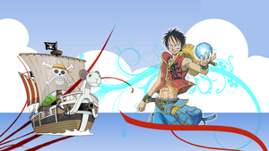 Luffy Wallpaper by HarryKayan