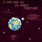 I Can See Us In Orbit Together (Animated) by MomentaryUnicorn