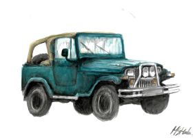 Jeep WRANGLER by MArt120