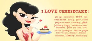 ID: I Love Cheesecake by kittifiedmeow