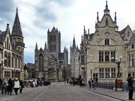 Ghent ( new edit ) by UdoChristmann