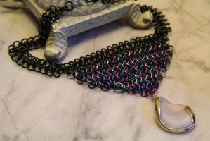 Galaxy Chainmaille by medievalfaery
