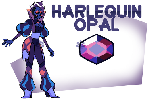 [P] - Harlequin Opal by FloofHips