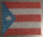 Chainmail Puerto Rico Flag by Moatis