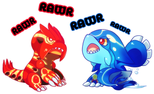 RAWR by miflore