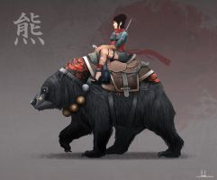 Bear Mount by Joshx87