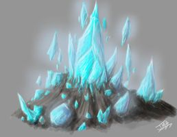 Crystal Site Concept by Myrdah