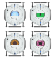Portal 2 Cores by CamKitty2
