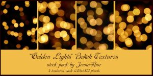 Golden Lights Bokeh Pack by Jenna-Rose
