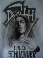 RIP Chuck Schuldiner - Death by DeadValkyrie793