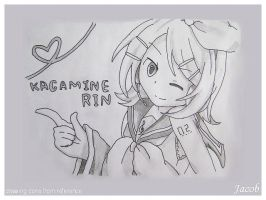 Rin practice by JacobMainland