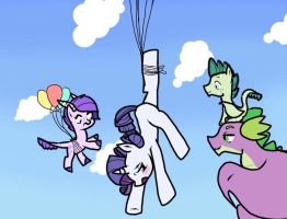 Kilala97Contest2: Soaring above the Clouds by Silvermist109