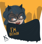 I AM BATMAN by AxKato