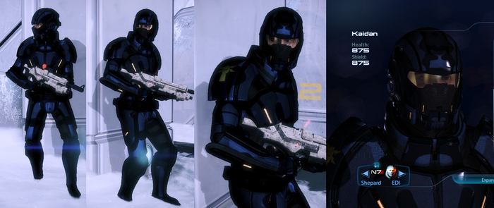 Kaidan Sentinel Armour (Alliance Warpack) by survivor686