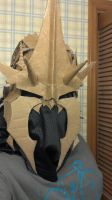 Witch King's helm/crown cardboard by wormyish
