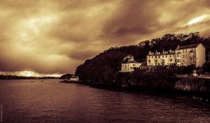View from Bangor Pier by Horroromance