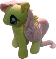 Final Fluttershy Plushie by PonyPlush