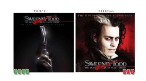 Sweeney Todd OST: Comparison by lord-phillock