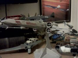 X-Wing Red Five by Valder137