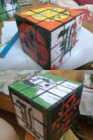 RubikCube01 by mortieru