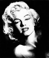 Marilyn Monroe No.1 by amberj8
