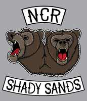 NCR Back Patch by strongjawdesigns