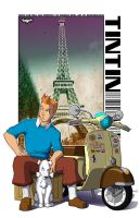 Tintin Fanart by siekfried