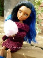 Robecca Repaint ~Monster High custom~ by MysteriousKirsty