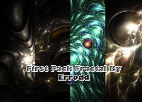 first pack fractals... by Erroodd