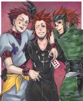 Red Hair Guys by A-alto