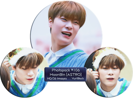 Photopack #106 - MoonBin [from ASTRO] by YuriBlack