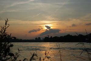 sunset in cologne by anyeah