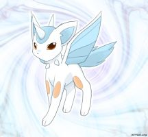 Fake pokemon: Auroreon by Neon-Juma