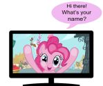 Pinkie Pie Really Wants To Meet You by Nightfire3024