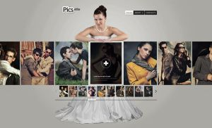 Weddings website  based on template by KatSoft