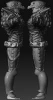 Unreal Tournament 3 char side by gunzet