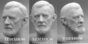 Alec Guinness Head Sculpt by TrevorGrove