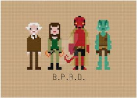 Hellboy cross stitch pattern by avatarswish