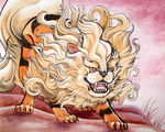 Arcanine the Foo Dog by CrimzonLogic