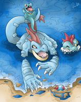 Feraligatr's Day! by allocen