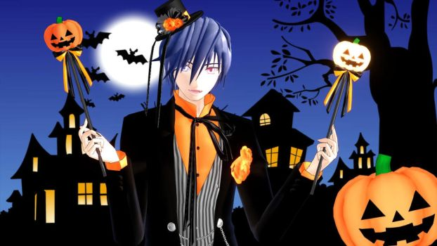 Halloween KAITO by hzeo