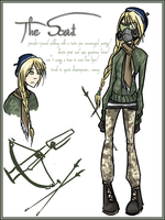 ROMAC OC: The Scout by eight0fhearts