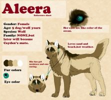 Aleera.:REF SHEET:. by Tanchie97