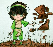 Toph Chibi by Flylend