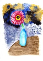 Flower painting by nadine20