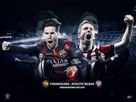 COPA DEL REY FINAL 2014/15 by Achrafgfx