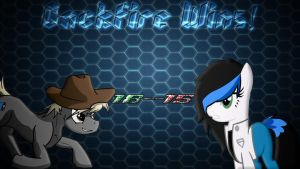 Pony Kombat New Blood 4 Round 1, Battle 9 Result by Macgrubor